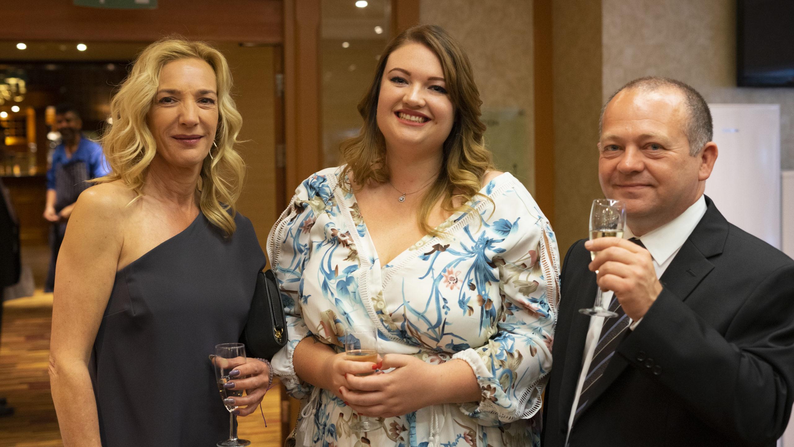 Reuse Network Conference 2019 dressing up for awards