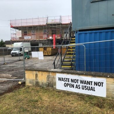 Waste Not Want Not Entrance