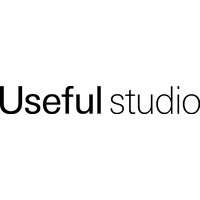 Logo for Useful Studio - simple black and white text
